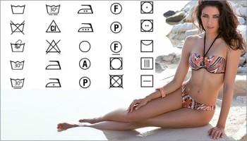 Символы по уходу за одежной