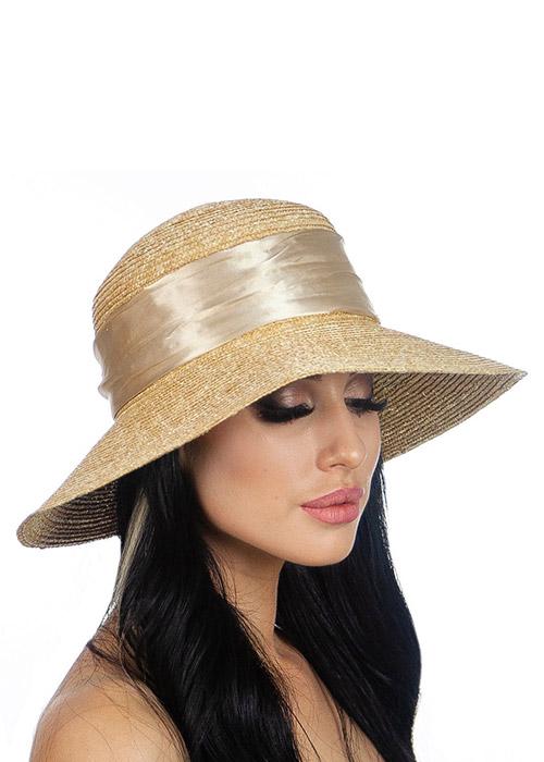 Женская пляжная шляпка Del Mare 080