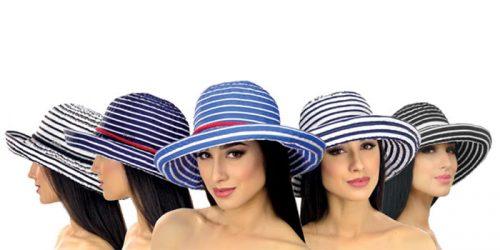 Женская летняя шляпа Del Mare 027