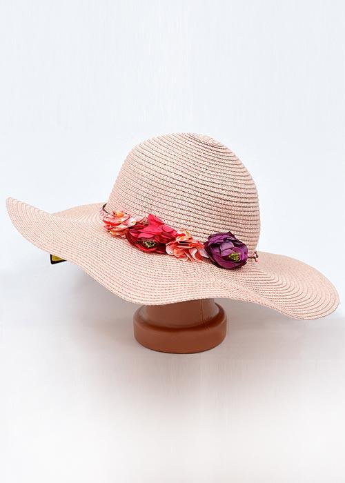 Женская пляжная шляпка 00087