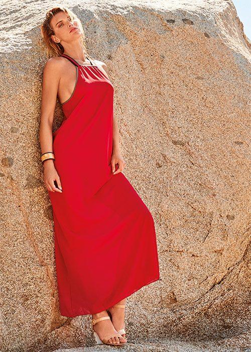 Пляжное платье Amarea 19108
