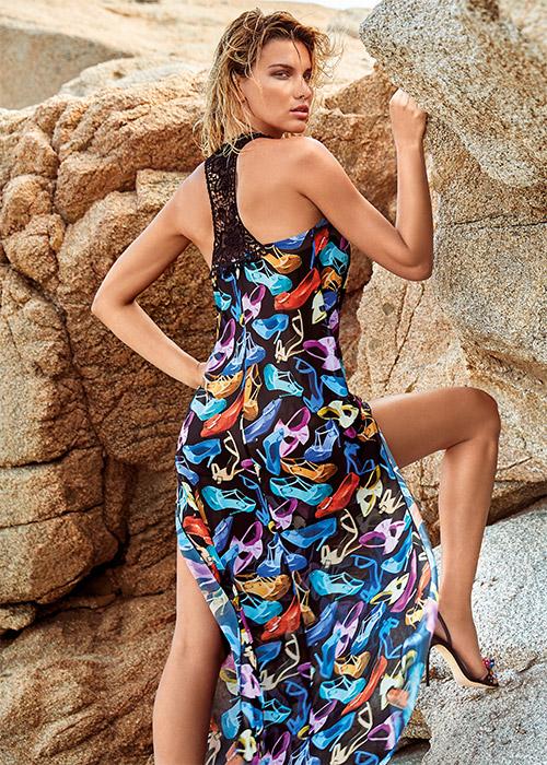 Пляжное платье Amarea 19145